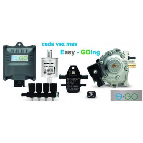 Комплект LOVATO 4ц. E-GO CNG-метан (без манометра)