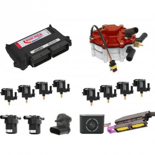 Комплект FSI STAG 400-8 AC250E (тип ACW03) + F97х2 AUDI Q7/VW TOUAREG